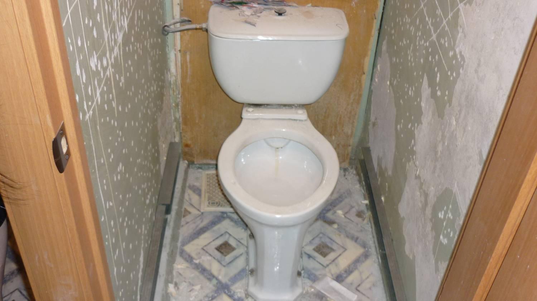 Делаем ремонт в туалете фото